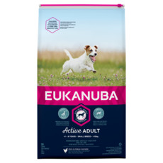 Eukanuba Active Adult Small Breed Chicken Dog Food 12kg