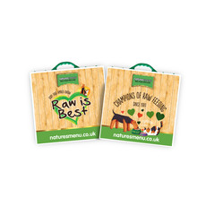 Natures Menu Raw Pet Food Freezer Bags