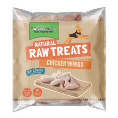 Natures Menu Frozen Raw Chicken Wings For Dogs 1kg