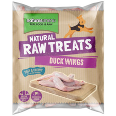 Natures Menu Frozen Duck Wings Raw Chews For Dogs 500g