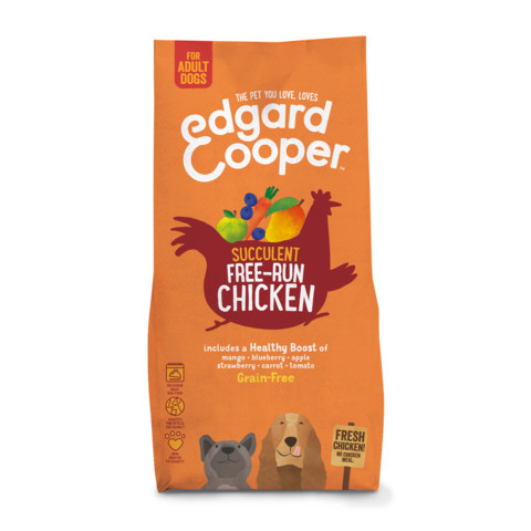 Edgard & Cooper Adult Grain Free Dry Dog Food With Fresh Free-run Chicken 12kg