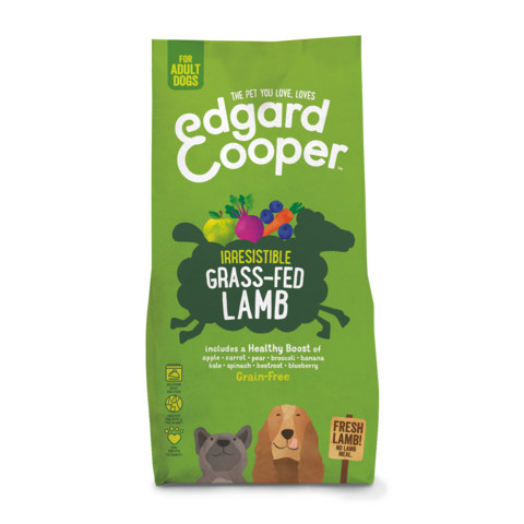 Edgard & Cooper Adult Grain Free Dry Dog Food With Fresh Grass-fed Lamb 7kg