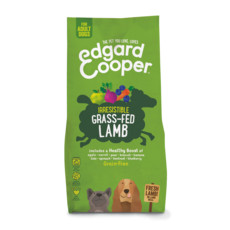 Edgard & Cooper Adult Grain Free Dry Dog Food With Fresh Grass-fed Lamb 12kg
