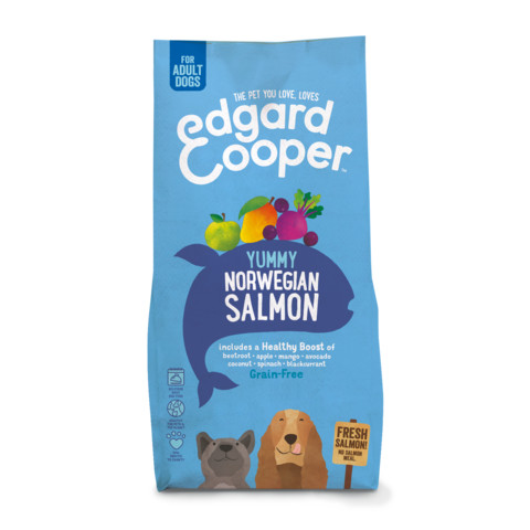 Edgard & Cooper Adult Grain Free Dry Dog Food With Fresh Norwegian Salmon 7kg