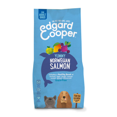 (s)edgard & Cooper Adult Grain Free Dry Dog Food With Fresh Norwegian Salmon 12kg