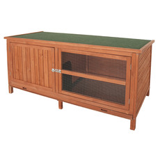 Bunny & Fizz Orchard Single Guinea Pig & Rabbit Hutch 5x2x2ft
