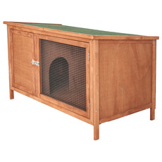 Bunny & Fizz Meadow Single Guinea Pig Hutch 4x2x2ft