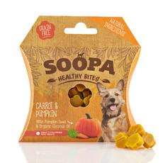 Soopa Healthy Bites Carrot & Pumpkin Dog Treats 50g
