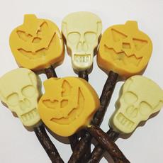 Bonbon Pooch Halloween Spooky Carob Dog Lollipop