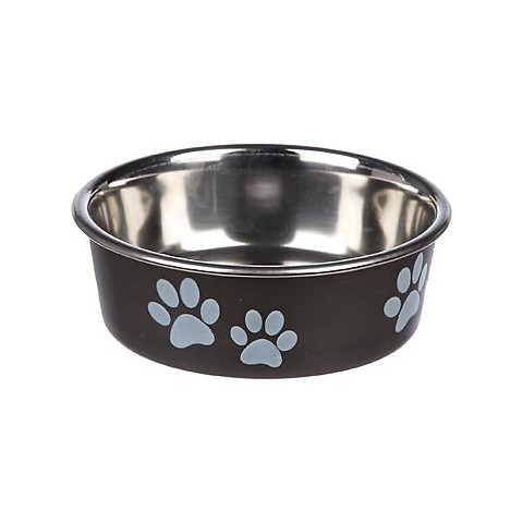 Loving Pets Bella Bowls Classic Espresso Black Small