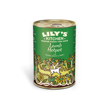 Lilys Kitchen Lamb Hotpot Grain Free Wet Dog Food 6 X 400g