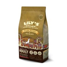 Lilys Kitchen Adult Highland Venison & Duck Grain Free Dry Food For Dogs 12kg