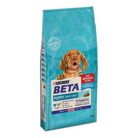 Beta Puppy Food Turkey & Lamb 14kg