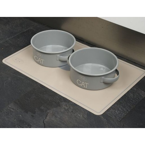 (d)banbury & Co Cat Feeding Tin Bowl