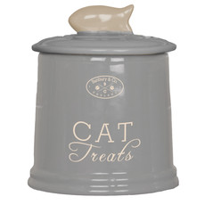 (d)banbury & Co Ceramic Cat Treat Storage Jar