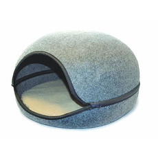 Buster & Beau Dove Grey Oslo Pod Cat Bed