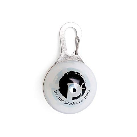 Pleasant Petface Outdoor Paws Flashing Collar Dog Tag White Kennelgate Download Free Architecture Designs Intelgarnamadebymaigaardcom