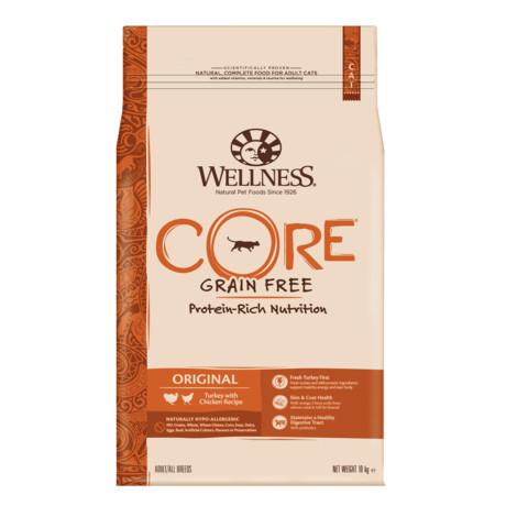 Wellness Core Original Chicken And Turkey Grain Free Dry Adult Cat Food 10kg