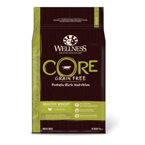 Wellness Core Healthy Weight Turkey Grain Free Adult Dry Dog Food 10kg