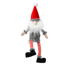 House Of Paws Silent Night Squeak Free Santa Christmas Dog Toy
