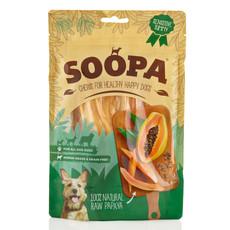 Soopa 100% Natural Papaya Fruit Dog Chews 100g