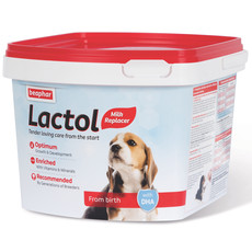 Beaphar Lactol Powder Milk Replacer For Puppies 1kg