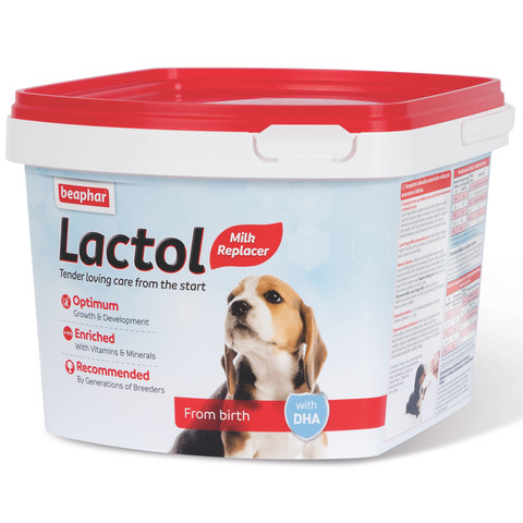 Beaphar Lactol Powder Milk Replacer For Puppies 1kg