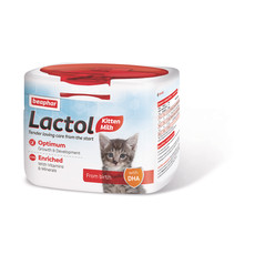 Beaphar Lactol Powder Milk Replacer For Kittens 250g