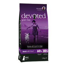 Devoted Duck With Trout Grain Free Adult Dog Food 12kg