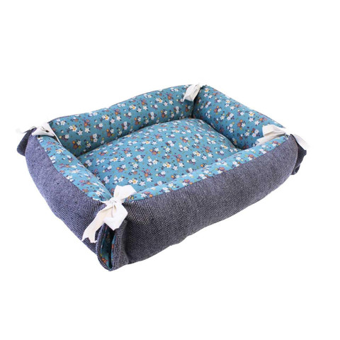 Happy Pet Tabby Chic Polka Reversible Cat Bed