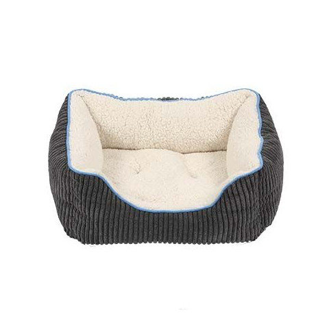 Happy Pet Little Rascals Night Night Square Pet Bed In Blue