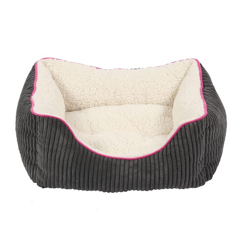 Happy Pet Little Rascals Night Night Square Pet Bed In Pink