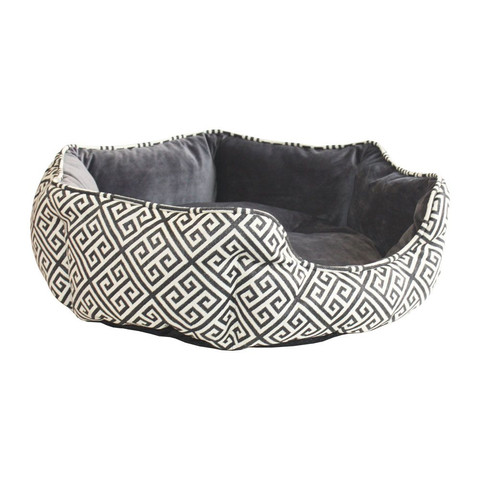 Happy Pet Newbury Oval Pet Bed Medium 66cm