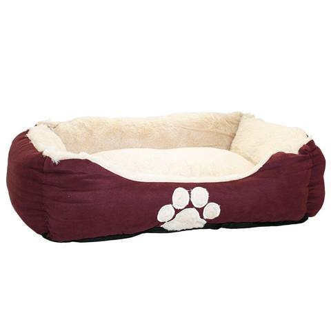 Happy Pet Hugs Square Grape Pet Bed