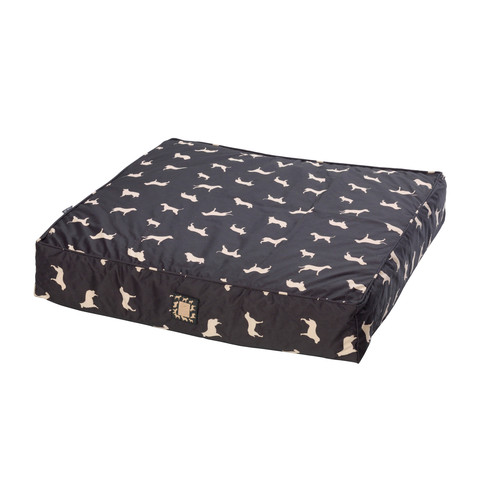House Of Paws All Weather Dog Print Mattress Pet Bed Medium