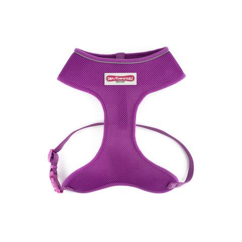 Ancol Comfort Fit Mesh Dog Harness In Purple Medium