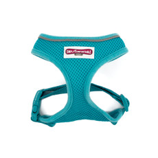 (d) Ancol Comfort Fit Mesh Dog Harness In Teal Large