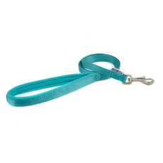 Ancol Heritage Padded Nylon Cushion Teal Dog Lead 1m X 12mm