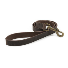 Ancol Heritage Latigo Havana Leather Dog Lead 1.3m