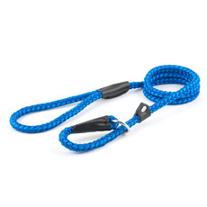 Ancol Heritage Nylon Blue Rope Slip Dog Lead 1.5m X 8mm