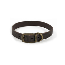 Ancol Heritage Latigo Havana Leather Dog Collar Medium