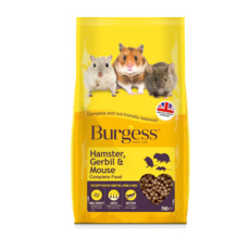 Burgess Hamster Gerbil And Mouse Complete Food 750g