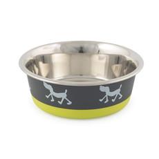 Ancol Fusion Dog Bowl Lime 17cm