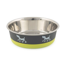 Ancol Fusion Dog Bowl Lime 21cm To 3 X 21cm