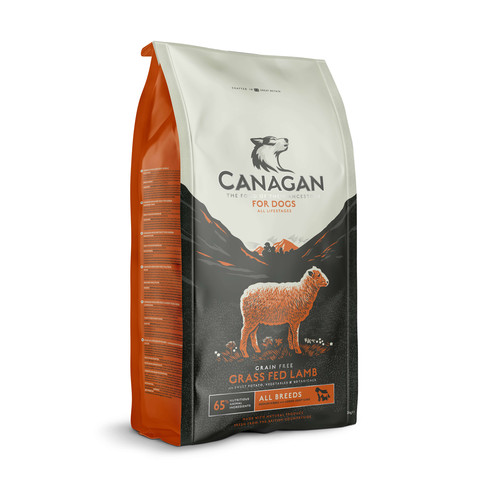 Canagan Grass-fed Lamb Grain Free All Breeds & Life Stage Dog Food 6kg