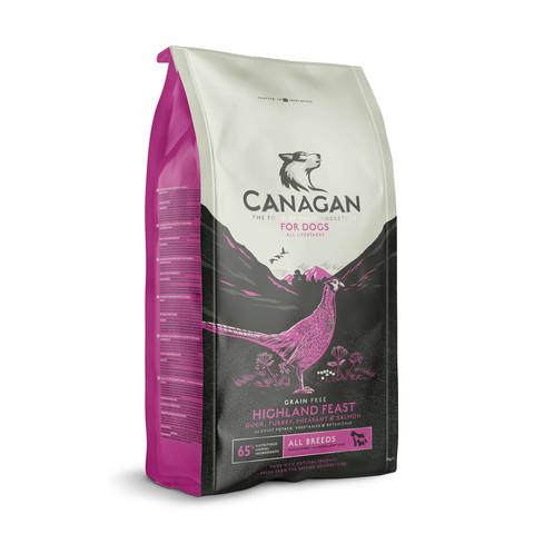Canagan Highland Feast Grain Free All Breeds & Life Stage Dog Food 2kg
