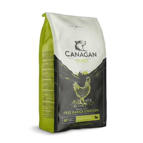 Canagan Free Run Chicken Grain Free All Life Stage Small Breed Dog Food 6kg