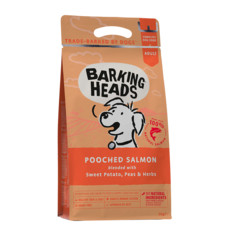 Barking Heads Pooched Salmon Grain Free Dry Dog Food 2kg