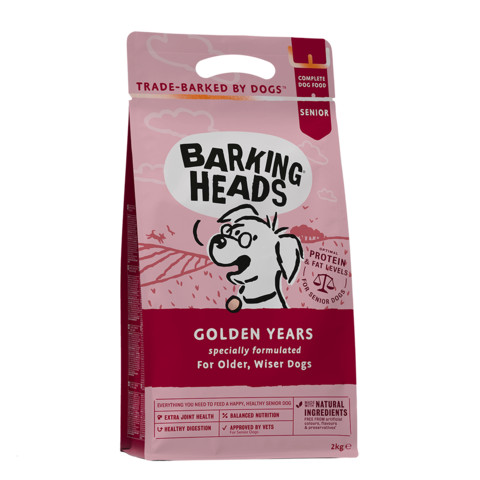 Barking Heads Golden Years Senior Dry Dog Food 12kg