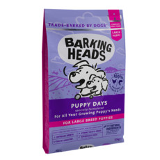 Barking Heads Puppy Days Large Breed Dry Puppy Food 12kg